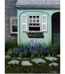 "paul walsh cape cod garden canvas art - 15.5"" x 21"""