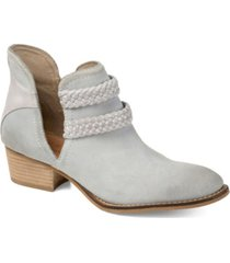 journee collection signature women's bernice bootie women's shoes