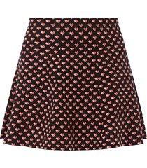 curve maggie heart skirt