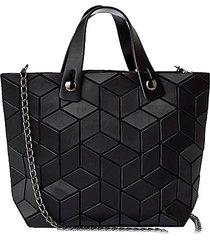 mini faux leather geometric crossbody