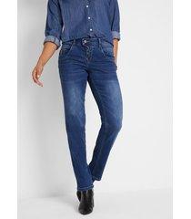 multi stretch jeans, wide fit