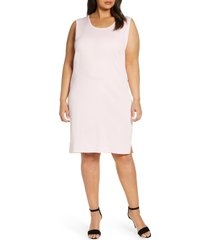 plus size women's ming wang sleeveless shift dress