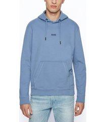boss men's relaxed-fit hooded sweatshirt