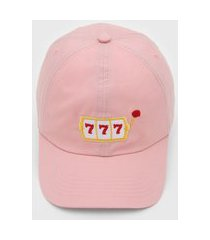 boné kanui dad cap 777 rosa