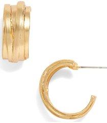 women's karine sultan hoop earrings
