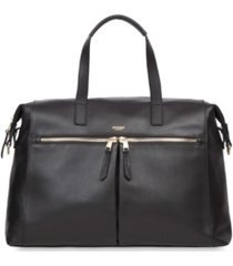 """knomo london audley fold down 14"""" briefcase"""