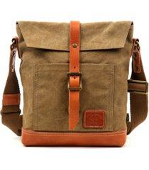 tsd brand pine hill canvas crossbody bag