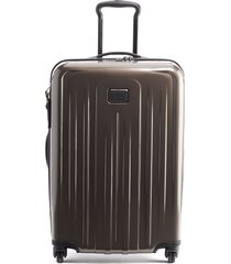 men's tumi v4 collection 26-inch expandable spinner packing case - brown