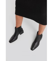 mango mess ankle boots - black