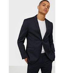 selected homme slhslim-mylobill navy blazer b noos kavajer & kostymer mörk blå
