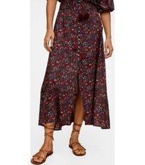 mango women's floral print skirt