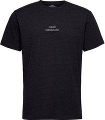 dusty thor emb t-shirts short-sleeved svart mads nørgaard