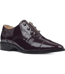 zapato wearable violeta oscuro mujer nine west