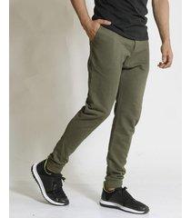 pantalón verde redskin rústico