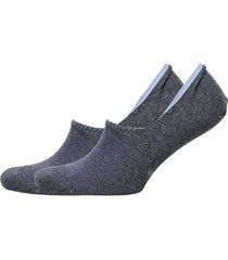 ck 2pk.caleb dress no-show liner h87 ankelstrumpor korta strumpor blå calvin klein