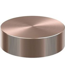 acionamento torneira para banheiro mesa recartilhado mix&match cobre escovado - 00917169 - docol - docol