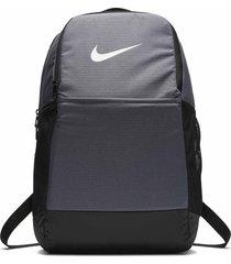 morral nike brasilia training backpack medium - gris