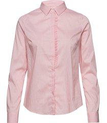 tilda frill check shirt overhemd met lange mouwen roze mos mosh