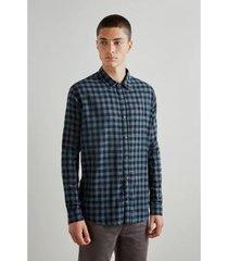 camisa pf vichy textura reserva inv 19 masculina