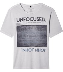 camiseta john john rx unfocused malha off white masculina (off white, gg)