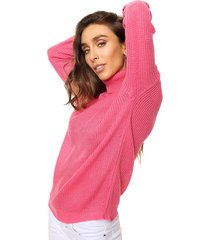 sweater fucsia exotica emma