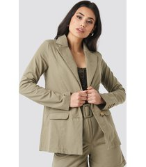 trendyol yol pocket detailed jacket - green