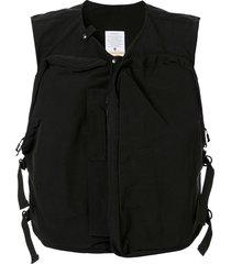 as2ov shrink camp vest - black