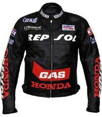 honda motorbike leather jacket motorcycle jacket racing biker allsize