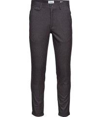 club pants - pin striped kostuumbroek formele broek grijs lindbergh