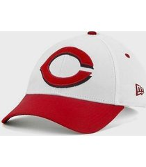 cincinnati reds - new era 39/30 mlb pineapple baseball cap - size m/l