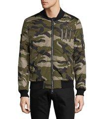 the new designers men's spleen bomber jacket - red - size s