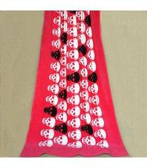 100-cotton-red-skull-printed-towel-pattern-beach-towel-90-170cm-bath-towel-decor