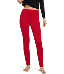 calzedonia leggings jeans skinny woman red size l