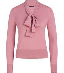 king louie ellen bow top cottonclub mauve pink