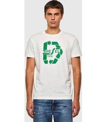 polera t diegos n23 t shirt 129 blanco diesel