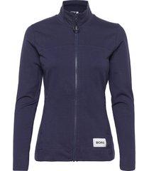 jacket flavia flavia sweat-shirt tröja blå björn borg