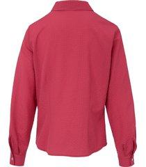 blouse met lange mouwen van mayfair by peter hahn rood