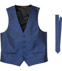 gilet e cravatta (set 2 pezzi) (blu) - bpc selection