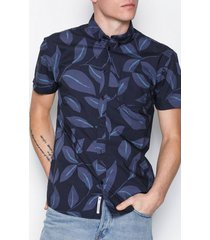 minimum hannibal 2165 skjortor navy blazer