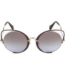 54mm cutaway cat eye sunglasses