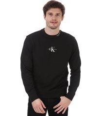 mens center monogram sweatshirt