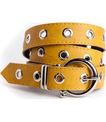 cinturón mostaza la vie est belts