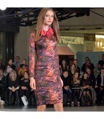 pani jesień - ołówkowa sukienka