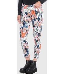 pantalón wados pitillo multicolor - calce ajustado
