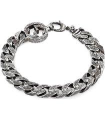 gucci interlocking-g curb chain bracelet