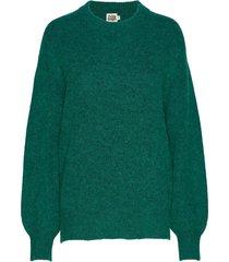 emmy sweater gebreide trui groen twist & tango