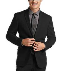 kenneth cole reaction techni-cole black slim fit suit