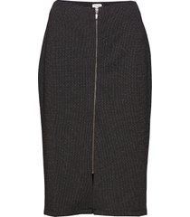 skirt knitwear knälång kjol svart gerry weber edition