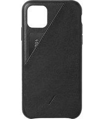 clic card iphone 11 pro max case - black