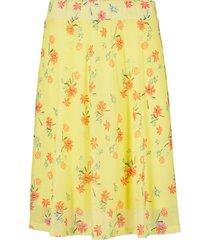 gonna in mesh a fiori (giallo) - bpc bonprix collection